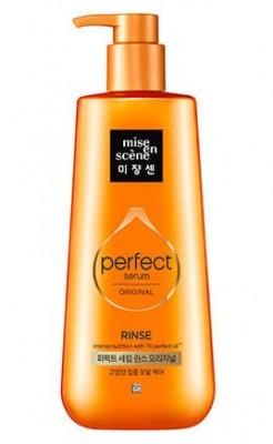 Кондиционер питательный для поврежденных волос MISE EN SCENE Perfect Serum Golden Morocco Argan Oil Original Сonditioner 680мл: фото