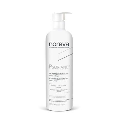 Гель успокаивающий очищающий Noreva Psoriane 500мл: фото