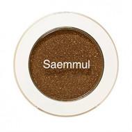 Тени для век мерцающие THE SAEM Saemmul Single Shadow Shimmer BR14 TMI Brown 2гр: фото