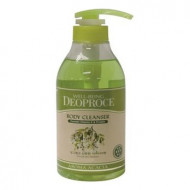 Гель для душа Акация DEOPROCE WELL-BEING AROMA BODY CLEANSER ACACIA 1000мл: фото