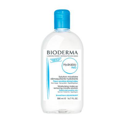 Мицеллярная вода Bioderma Hydrabio Н2О 500 мл: фото