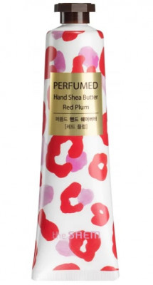 Крем-масло для рук THE SAEM Perfumed Hand Shea Butter Red Plum 30мл: фото