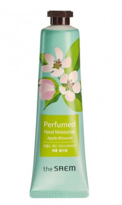 Крем для рук парфюмированный увлажняющий THE SAEM Perfumed Hand Moisturizer Apple Blossom 30мл: фото