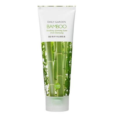 Пенка для лица с бамбуком Holika Holika Daily Garden Damyang Bamboo Soothing Cleansing Foam, 120 мл: фото