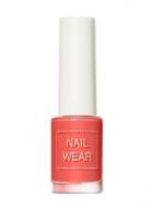 Лак для ногтей THE SAEM Nail wear 99. Grapefruit Coral 7мл: фото