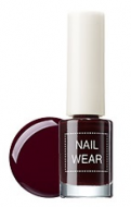 Лак для ногтей THE SAEM Nail wear 18. Redbean Brown 7мл: фото