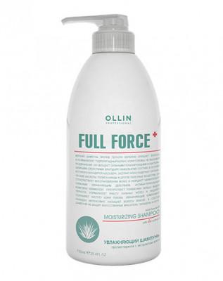 Шампунь увлажняющий против перхоти с экстрактом алоэ OLLIN Full Force 750мл: фото