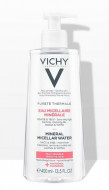 Мицеллярная вода с минералами для чувствительной кожи VICHY PURETE THERMALE 400 мл: фото
