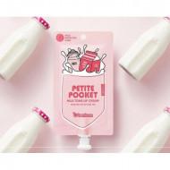 Крем для лица Berrisom Petite Pocket milk tone up cream 30г: фото