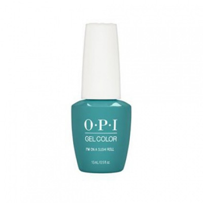 Гель для ногтей OPI GelColor GCT87 Im On a Sushi Roll 15мл: фото