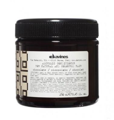Кондиционер АЛХИМИК для натуральных и окрашенных волос Davines ALCHEMIC CONDITIONER for natural and coloured hair шоколад 250мл: фото