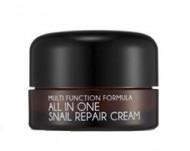 Крем для лица с муцином улитки MIZON All in One Snail Repair Cream 15 мл: фото