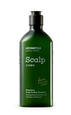 Шампунь укрепляющий с розмарином AROMATICA Rosemary Scalp Scaling Shampoo 250мл: фото