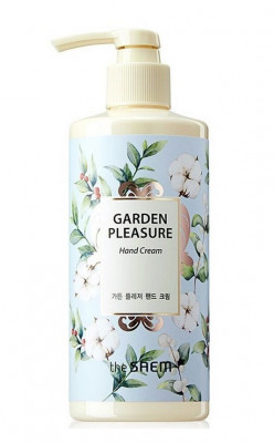 Крем для рук The Saem Garden Pleasure hand Cream Linen Cotton 300мл: фото