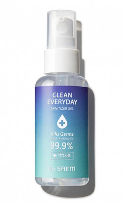 Cпрей-антисептик THE SAEM Clean Everyday Sanitizer Liquid 60мл: фото