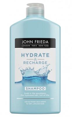 Увлажняющий шампунь для сухих волос John Frieda Hydrate & Recharge 250 мл: фото