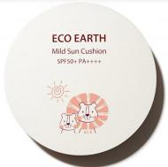 Солнцезащитный кушон THE SAEM Eco Earth Power Mild Sun Cushion Lion Edition 12г: фото