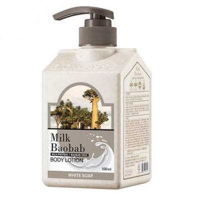 Лосьон для тела с белым мылом Milk Baobab Original Body Lotion White Soap 500мл: фото