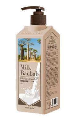 Шампунь с ароматом белого мускуса Milk Baobab Perfume Shampoo White Musk 500мл: фото