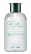 Мицеллярная вода для снятия макияжа с экстрактом зеленого чая TONY MOLY THE CHOK CHOK GREEN TEA No-wash Cleansing Water 800мл: фото