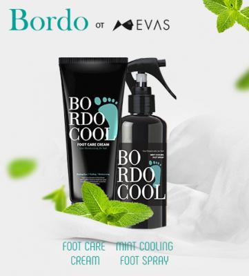 Крем для ног ОХЛАЖДАЮЩИЙ EVAS Bordo Cool Foot Care Cream 75 г: фото