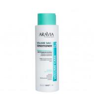 Бальзам-кондиционер для придания объема тонким и склонным к жирности волосам ARAVIA Professional Volume Save Conditioner 400мл: фото