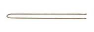 Шпильки прямые Sibel 7см бронзовые 50шт: фото