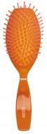 Щетка массажная, овальная с гладкой пластиковой ручкой Titania 22см большая: фото