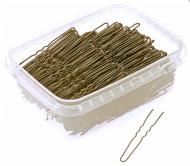 Шпильки волнистые Sibel 65мм бронзовые 500г: фото