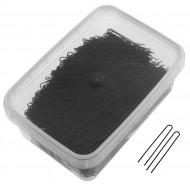 Шпильки прямые Sibel 45мм черные 500г: фото