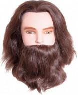 Голова учебная мужская с бородой и усами Sibel KARL: фото