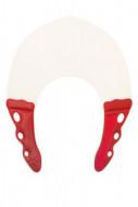 Воротник для стрижки и окрашивания Y.S.PARK 0.3мм, натуральный с красным: фото