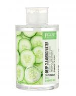 Жидкость для снятия макияжа ЭКСТРАКТ ОГУРЦА JIGOTT CUCUMBER Deep Cleansing Water 530 мл: фото