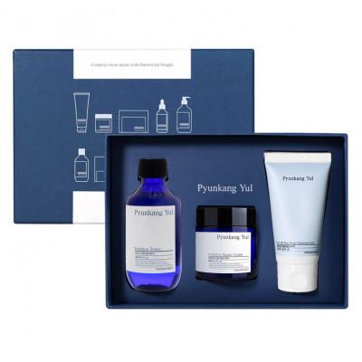 Набор для чувствительной кожи Pyunkang Yul Skin set 20: Intensive Repair Cream 50мл + Essence toner 100мл + Low pH Pore Deep Cleansing Foam 40мл: фото