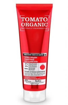 """Био-шампунь для волос томатный Оrganic Shop Naturally Professional """"Турбо объем"""" 250мл: фото"""