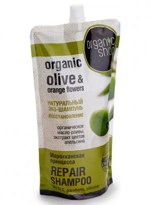 """Шампунь для волос восстановление Organic Shop """"Марокканская принцесса"""" 500мл: фото"""