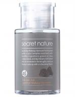 Средство-жидкость для снятия макияжа Secret Nature Volcanic ash lip & eye makeup remover 30мл: фото