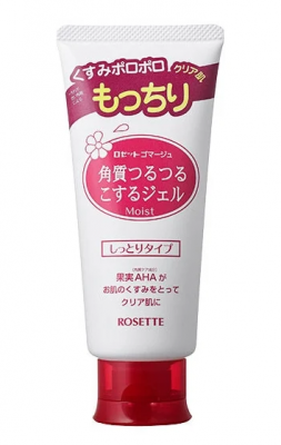 Пилинг-гель для лица с АНА кислотами Rosette Moisturizing peeling gel with ana acids 120г: фото