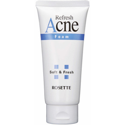 Пенка для проблемной подростковой кожи с серой Rosette Foam for problem adolescent skin with 120г: фото