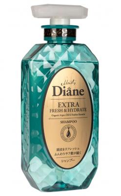 Шампунь кератиновый свежесть Moist Diane Perfect beauty 450мл: фото