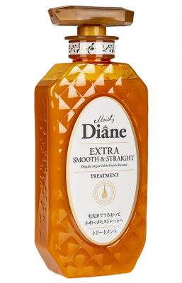 Бальзам-маска кератиновая гладкость Moist Diane Hair mask keratin smooth 450мл: фото