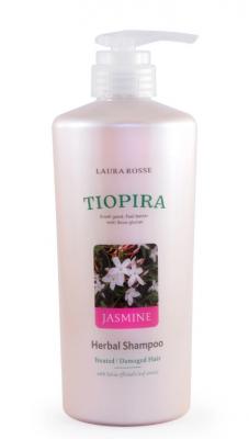 Шампунь растительный для ослабленных волос «жасмин» Laura Rosse Herbal shampoo jasmine 510мл: фото