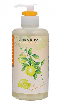 Жидкое мыло Лимон Laura Rosse Body wash lemon 500мл: фото