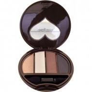 Тени для век 4-х цветные Koji Dolly wink eye shadow тон №01 классический коричневый: фото