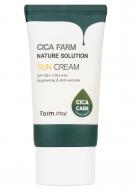Крем солнцезащитный восстанавливающий FarmStay Cica farm nature solution SPF50+/PA++++ 50г: фото